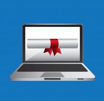 دسترسی به گواهی آنلاین در نسخه جدید سایت
